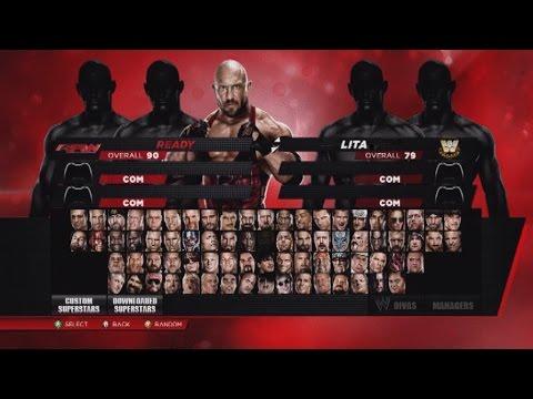 UGWI Operation Ground and Pound WWE2K14 8/23/14