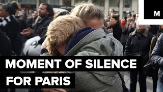 A Moment of Silence for Paris Attack Victims Echoes Around the World