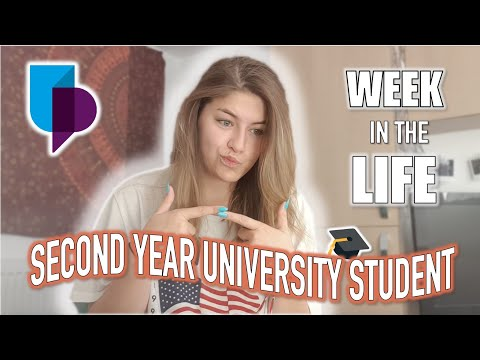 WEEK IN THE LIFE Of A Portsmouth University Student VLOG| Georgia Pontin
