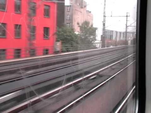 Travelling on Stadtbahn in Berlin