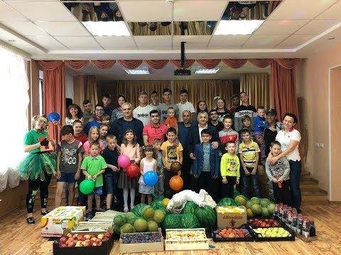 Азербайджанская диаспора «Бирлик», посетила детский дом