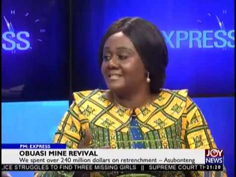Obuasi Mine Revival - PM Express on JoyNews (23-1-19)