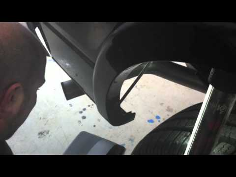WeatherTech Ford f150 Ecoboost No Drill Mud Flap - Install