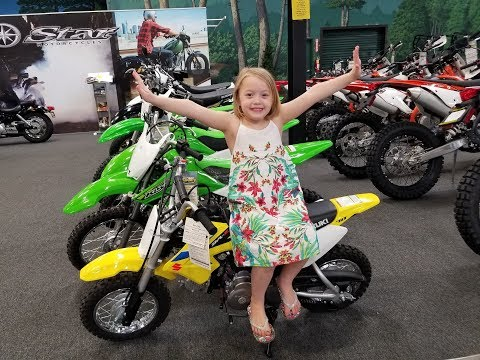 Addison needs a DirtBike!! What should we get?