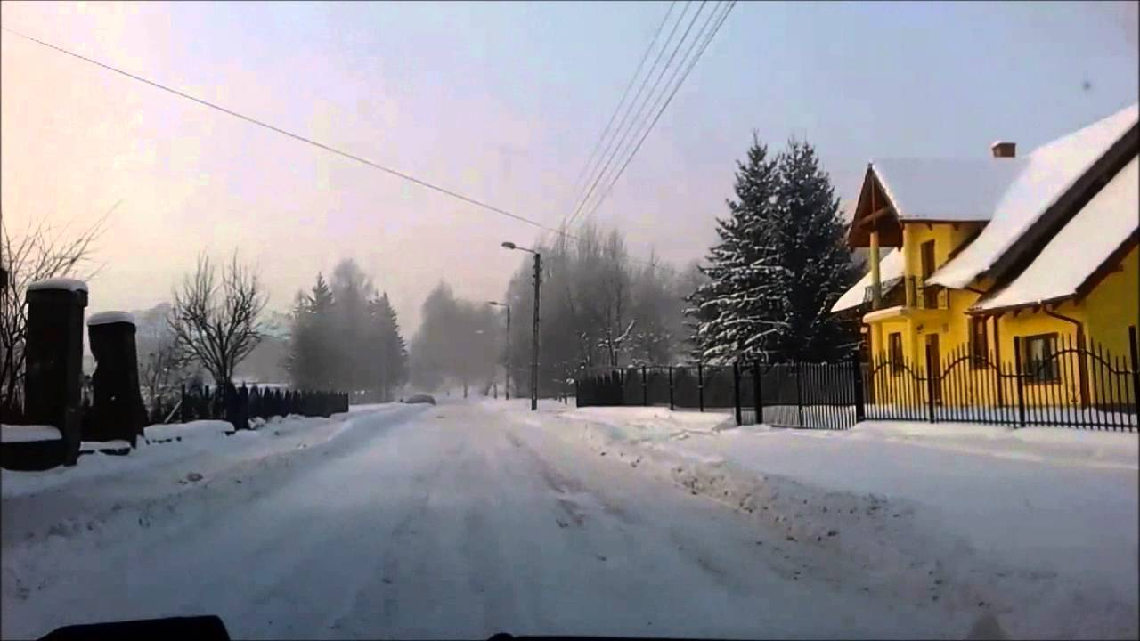 winter in poland january 2016 youtube. Black Bedroom Furniture Sets. Home Design Ideas