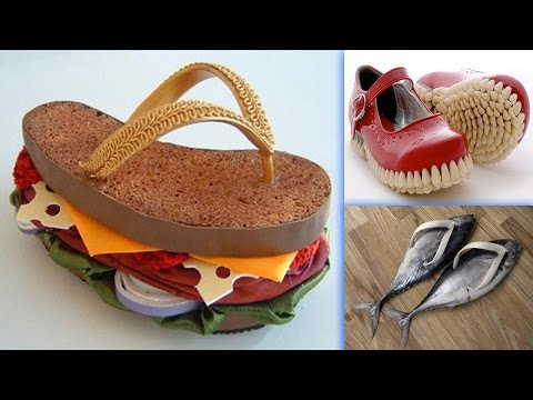 Most Bizarre Weird Shoes You Have Never Seen #1