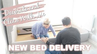CLEAN AND DECORATE WITH ME 2018 | KLAYTONS NEW ROOM | NEW BED & GIVEAWAY FROM ESUPASAVER | MRS SMITH