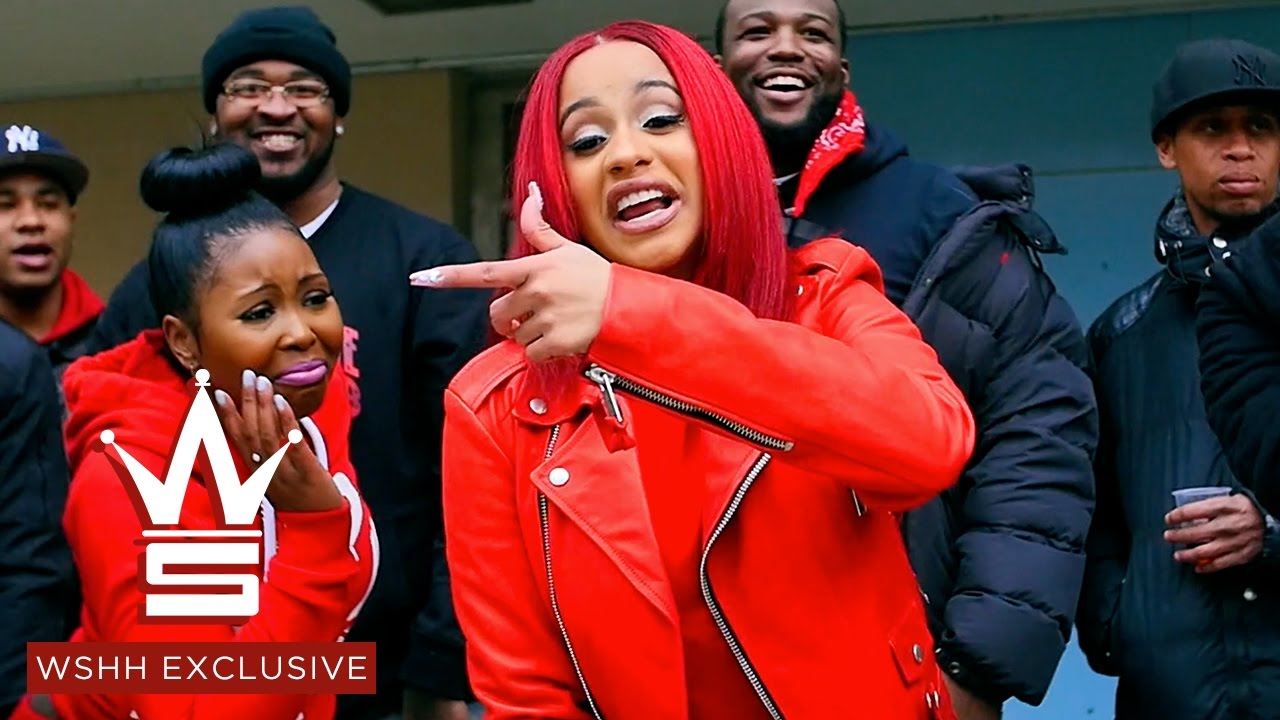 "Cardi B ""Red Barz"" (WSHH Exclusive - Official Music Video) - YouTube"