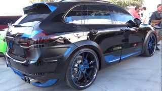 TECHART Aerodynamic Kit I for the Porsche Cayenne 2011 Videos