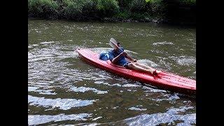Descente la LESSE DINANT Belgique 21 km kayak