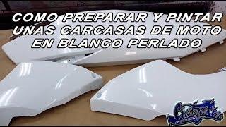 COMO PINTAR CARCASAS DE KYNCO SUPERDINK BLANCO PERLADO