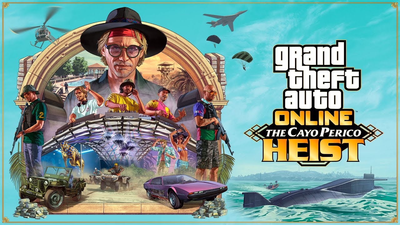 《GTA 线上模式》佩里克岛抢劫 | 现已推出