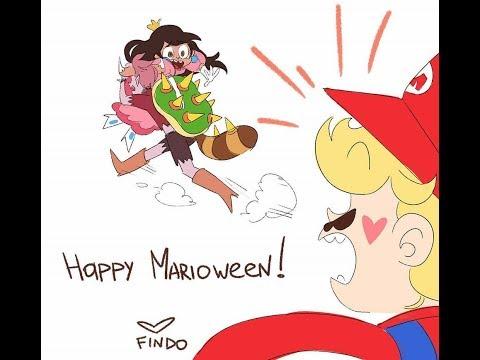 Starco-6 Comics Nuevos(2 AU Gravity Falls,1 AU Mario Bros,2 AU de  Eclipsa Joven,2 AU de Halloween)