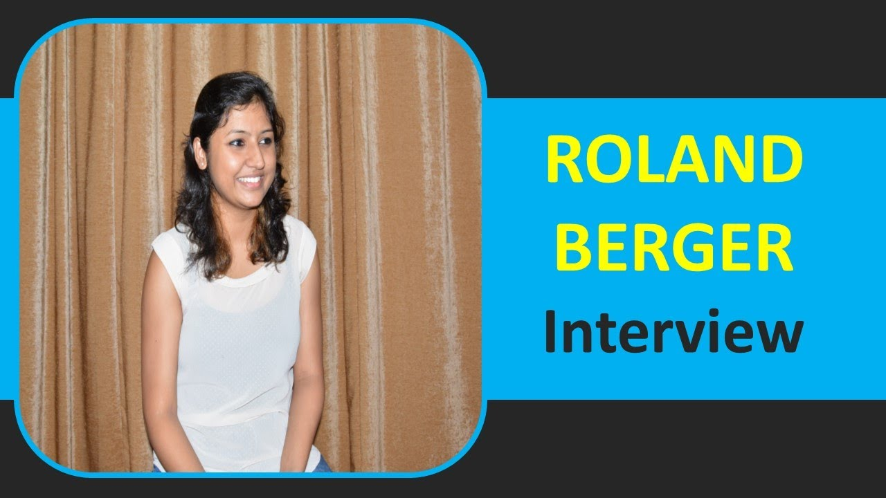 Roland Berger Interview Questions and Tips