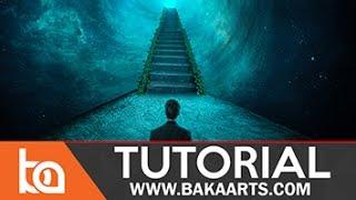 Beginner Photoshop Photomanipulation Tutorial | Stairway