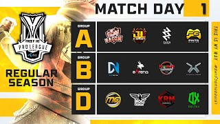 Free Fire Pro League Season 4 : Regular Season Day 1