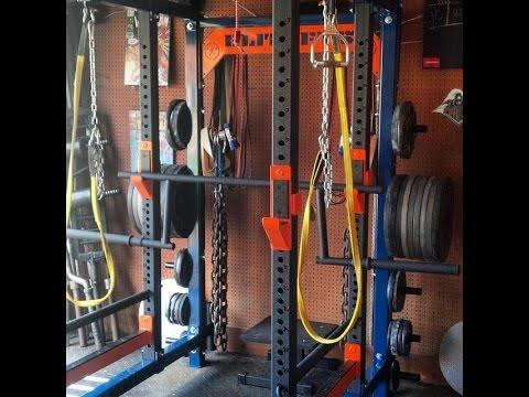 Brandon smitley elitefts™ athlete sps garage gym walk through