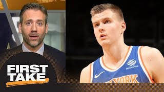Max on if Kristaps Porzingis is a No. 1 option: Absolutely | First Take | ESPN