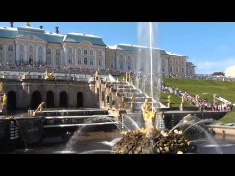 The Grand Cascade at Peterhof