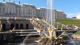The Grand Cascade at Peterhof