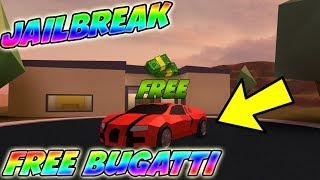 Roblox Jailbreak How to get a BUGATTI for FREE very easy method