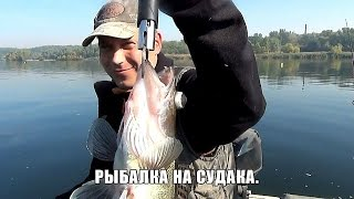 Ловля судака на джиг. Грушка - рулит).(Рыбалка на судака, лодка - джиг, крайний выезд. Моя партнерская программа https://www.google.com/url?q=http://www.air.io/?page_id%3D1432%..., 2015-10-05T15:11:24.000Z)