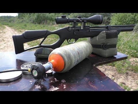 HATSAN FLASH калибра 6,35 мм - доступная и неплохая РСР винтовка!!!
