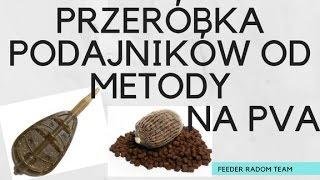 Przeróbka Podajników od Metody na PVA   Poradnik   Feeder Radom Team