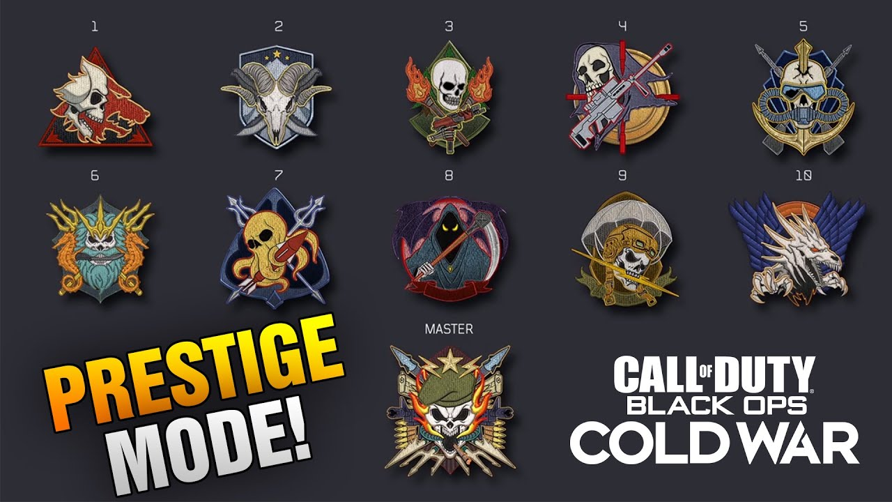 Black Ops Cold War Prestige Mode Evidence Black Ops Cold War Will Have A Prestige System Youtube