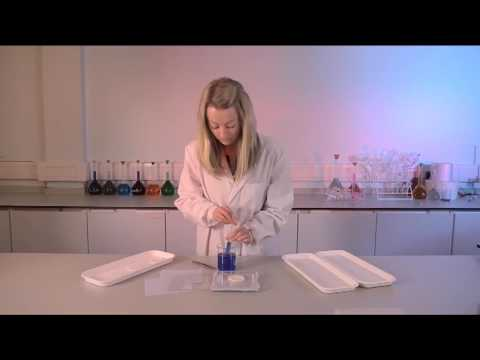 Convatec Aquacel Ag Extra Hydrofiber Dressing - Absorbency Demonstration