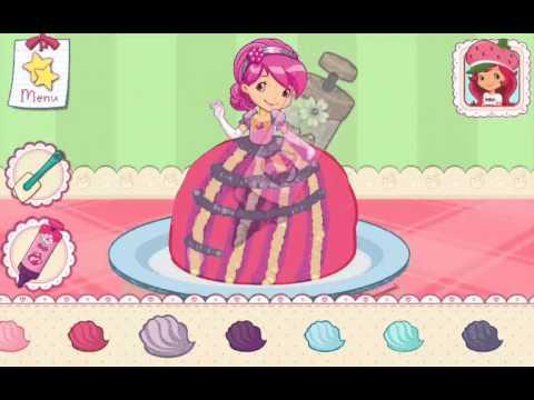 Strawberry Shortcake Bake Shop Games Princess Cake