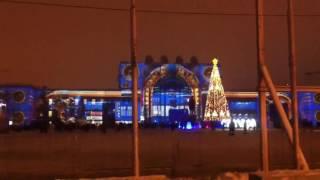 Очень красиво Площадь Куйбышева. И ёлочка