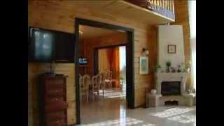 Дом из клееного бруса(Видео о клееном брусе на примере построенного дома компанией