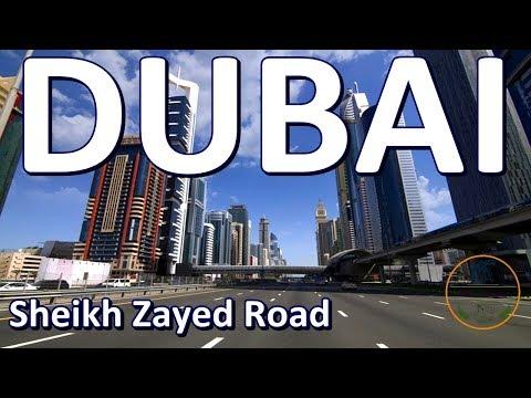 dubai-road-drive- -sheikh-zayed-road- -dubai- -uae- -za-planet- -by-zia