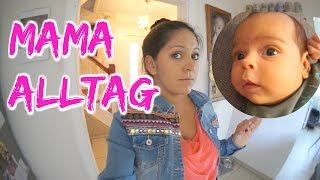 Mama Alltag mit Baby und Kleinkind - DIY Nähenanleitung Dreieckstuch   Vlog#797 Rosislife