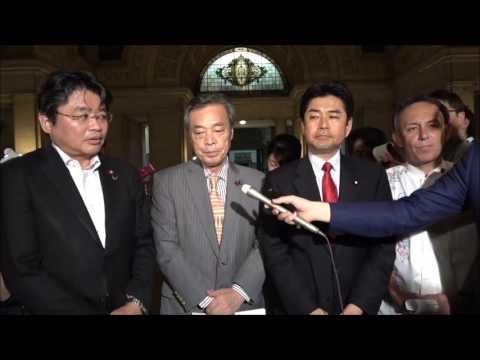 稲田防衛大臣の罷免と臨時国会開会を求めることで一致 野党4党国対委員長会談