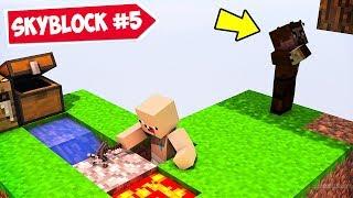 MİNECRAFT ama SKYBLOCK 5 😱 - Minecraft