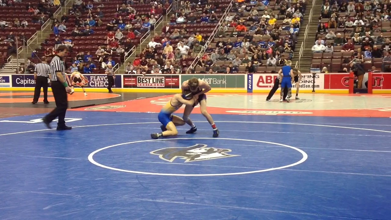 District 3 Individual Wrestling Championships Day 2 - Dauer: 2 Minuten, 25 Sekunden
