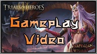 Trials of Heroes  ntertaining gameplay video. Without comments. Enjoy