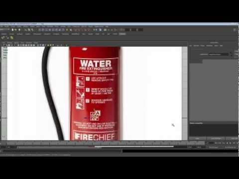 Modelling a basic game asset - Fire Extinguisher