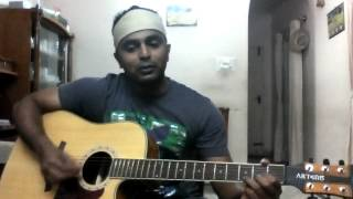 Beete Lamhe(lounge version)-Full song with Guitar chords and strumming