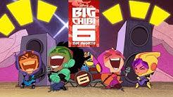 All Big Chibi 6 Shorts | Compilation | Big Hero 6 The Series  | Disney Channel