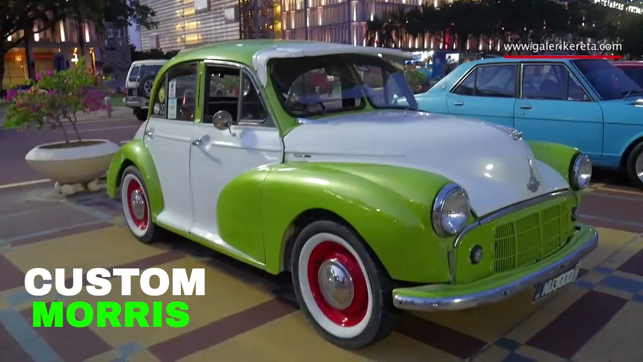 Morris Minor Old School Car Modified Restoration Kereta Lama