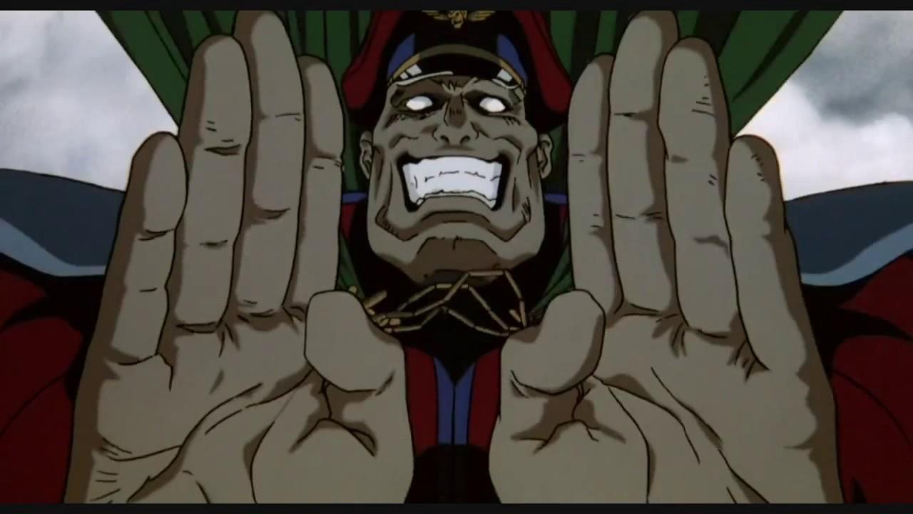 M Bison Street Fighter Movie GUILE VS M.BISO...