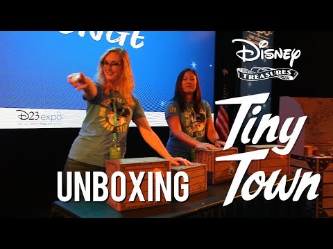 Disney Treasures: Tiny Town Unboxing!