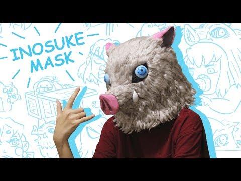 "Inosuke Boar Mask ""Tutorial"""