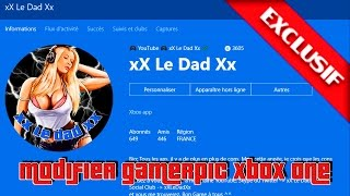 EXCLU !!! Modifier GamerPic sur Xbox One / EXCLU !!! To Change GamerPic on Xbox One