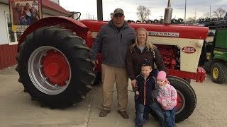 polk auction sells ih 660 in honor of brandon wilke from wilke classic tractors
