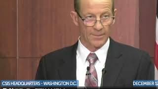 美助理国务卿史达伟在华盛顿智库谈美中关系