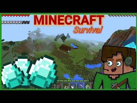 [Minecraft-Survival] - Čarovné diamanty !! w/ Hruška (ČÁST 1)